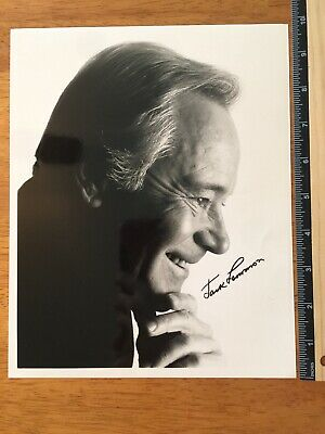 Jack Lemmon Odd Couple Hand Signed Autograph - A Collectors Must Have