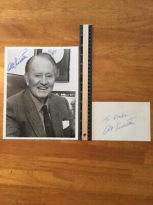 Coa 2 Art Linkletter Coa Hand Signed Autograph - A Collectors Must Have