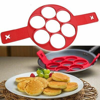 Stampo Per Pancake In Silicone Cucina Antiaderente Flippin Fantastic Omelette Nw