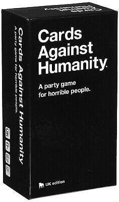 cards against humanity uk edition, friends and family game