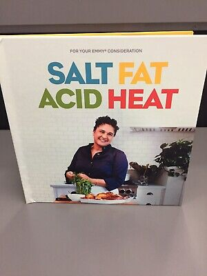SALT FAT ACID HEAT 2019 Emmy FYC Netflix Promo DVD Documentary Complete Screener