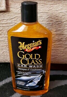 MEGUIARS GOLD CLASS CAR WASH SHAMPOO AND CONDITIONER 473ml