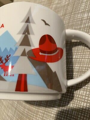 Starbucks mug Canada You Are Here 2017. Great condition Used