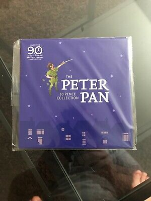 Own the COMPLETE Peter Pan BU 50p Set brilliant uncirculated fifty pence
