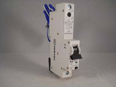 MK RCBO 40 Amp 30mA Type B 40A Sentry B40 07937S 7937S NEW