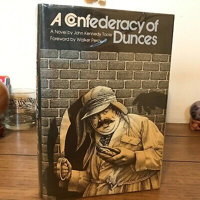A Confederacy of Dunces, John Kennedy Toole (1980),1st State DJ, 1st/2nd, SIGNED