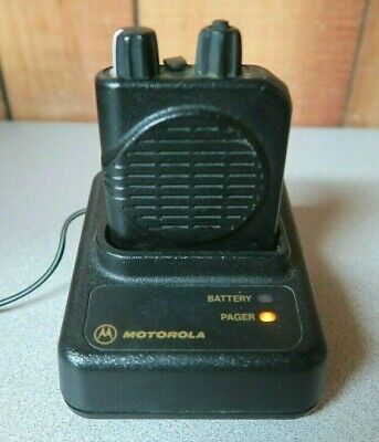 Motorola Minitor IV (4) VHF Stored Voice Pager 151-159 MHz 2 Channels