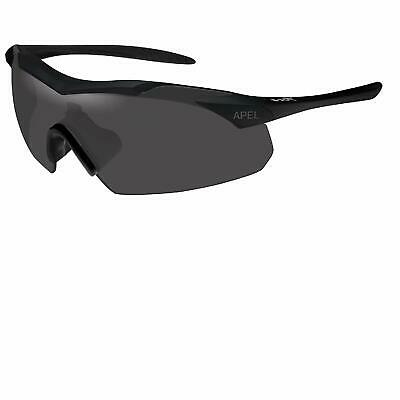 121158e1526d Wiley X Changeable Vapor Apel - Small Smoke Grey - Clear/Matte Black  Sunglasses