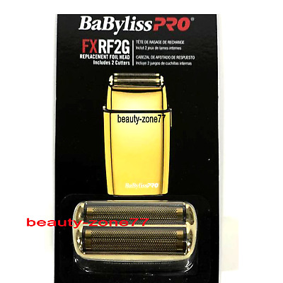 BaByliss PRO Replacement Double Foil Head & Cutters for Gold Shaver FXRF2G