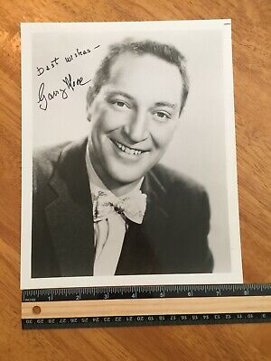 Coa Garry Moore Authentic Coa Hand Signed Autograph -A Collectors Must Have