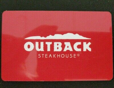 Outback Steakhouse Gift Card $50 (Also work at BonefishGrill Carrabbas Flemings)