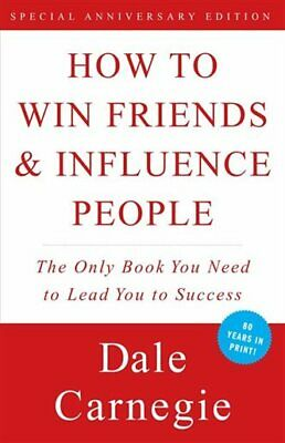 How to win Friends & Influence People (E-BooK,PDF,1998) ⚡ Fast Delivery ⚡