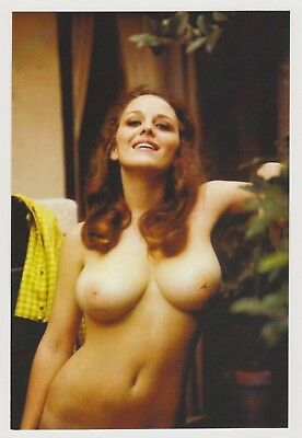 Postcard Pinup Risque Nude Stunning Girl Extremely Rare Photo Post Card 9560