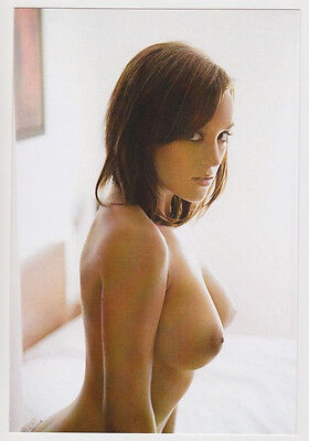 Postcard Pinup Risque Nude Stunning Girl Very Rare Photo Post Card 5828