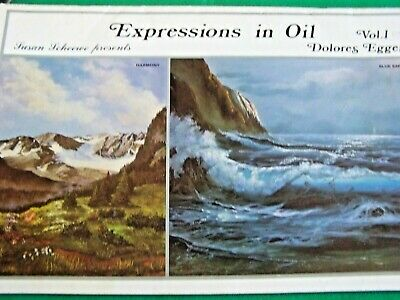 Dolores Egger 1980S Expressions In Oil V1 Scheewe Oil Landscapes Tole Paint Book