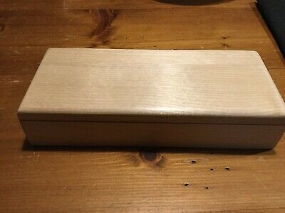 Pardelanti Wooden Knife Or Tool Box Empty Just Box