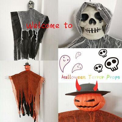 HALLOWEEN ANIMATED PARTY/PROPS Witch Pumpkin Ghoul Skeleton