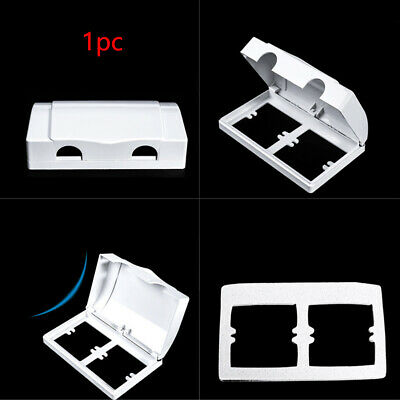Switches Box Child Safety Double Socket Household Baby Protector Plug Cover