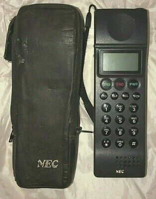 Nec P3 1990 Rare Mobile Cell Vintage And Collectible