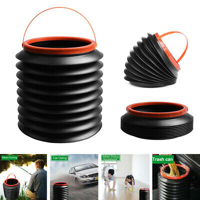 4L Multi-function Foldable Car Trash Can Water Storage Fishing Bucket Bin Well