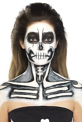 Halloween Lattice Ossa Dello Scheletro Effetti Speciali Make Up Set Costumi