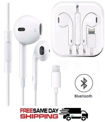 OEM Original Apple Earpods Headphones  with lighting cable for iPhone 7, 8, 10