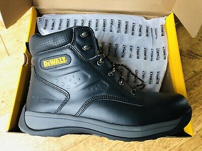 6e5db80f2d0 DEWALT BOLSTER BROWN Leather Steel toe safety boots - Size 9 ...