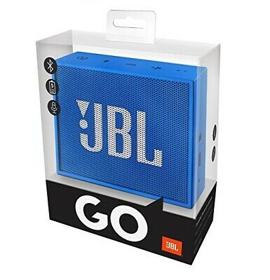 Jbl Go Portable Chargeable Wireless Bluetooth Stereo Speaker - Blue