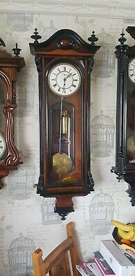 Antique vienna wall clock single Weight