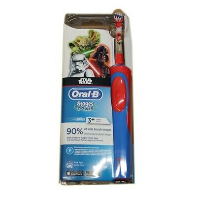 ORAL B STAR WARS Stages Power Rechargeable Toothbrush New & Sealed