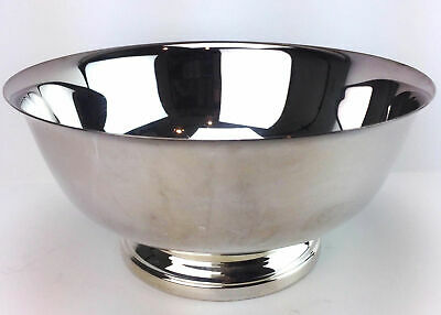 Gorham Paul Revere Footed Bowl Silverplate Candy Serving Round YC781