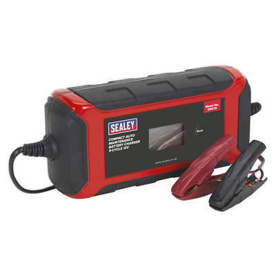 Battery Charger Compact Auto Maintenance 8A - 9-Cycle 12V - UK SEALEY STOCKIST