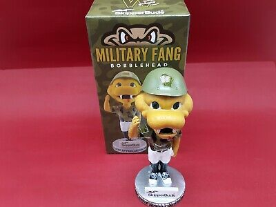 2019 Wisconsin Timber Rattlers Military Fang Booblehead Number 7