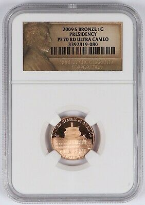 2009-S Bronze Presidency Lincoln Cent 1C NGC PF70 RD Ultra Cameo