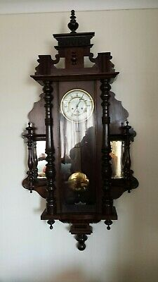 Monster  Giant Antique vienna wall clock,Superb Condition.
