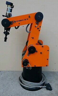 Eshed Robotec SCORBOT-ER III Robotic Arm - NO CONTROLLER - Fully Tested!!!