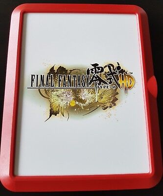 Final Fantasy Type-o HD- Preorder Case-  limited edition - PS4  - NO GAME