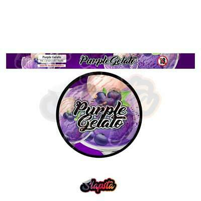 Purple Gelato Cali Tuna Can Pressitin Strain Labels