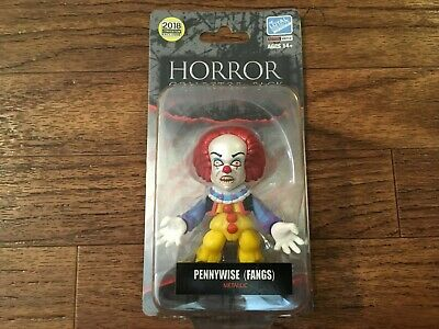 Loyal Subjects 2018 SDCC Exclusive Pennywise Fangs Metallic Horror IT New Carded