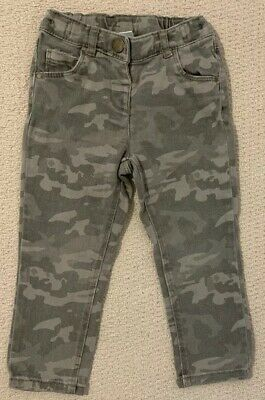 Toddler Girls Next Camoflauge Skinny Jeans - Age 1.5-2 Years