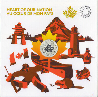 Canada 2017 Heart of Our Nation $3 Pure Silver Coin 150 Years of Confederation