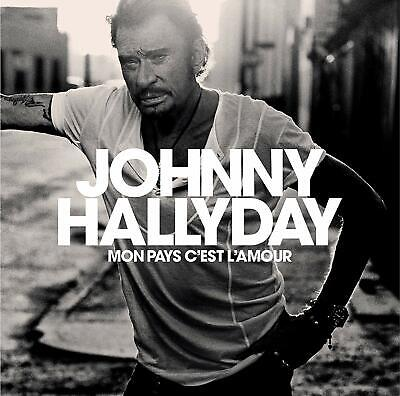 Cd Johnny Hallyday - Mon Pays C'est L'amour Edition Collector Neuf Emballe