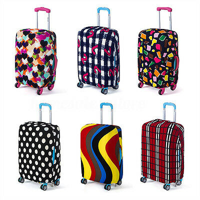 """22-28"""" Elastic Luggage Suitcase Cover Protective Bag Dustproof Case Protector"""