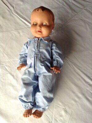 Polyflex moulded hair Doll made in France
