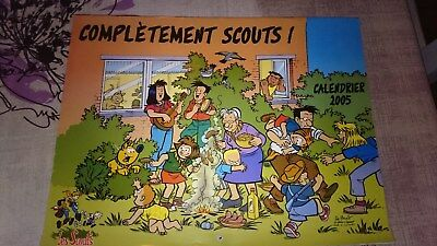 calendrier SCOUT 2005 - completement scouts