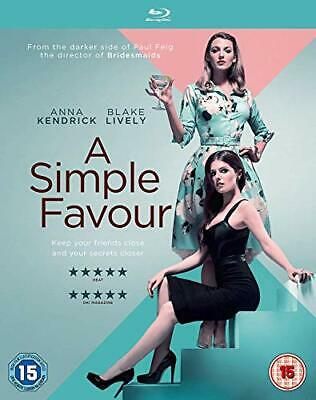 A Simple Favour [Blu-ray] [2018] - DVD  13VG The Cheap Fast Free Post