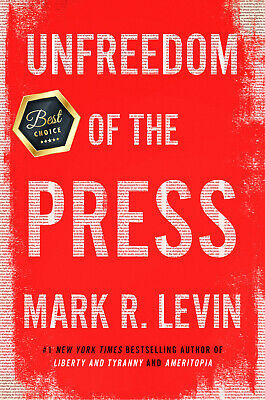🔥Unfreedom of the Press 🔥by Mark R.Levin 2019  INSTANT DELIVERY📩 rank #1🥇