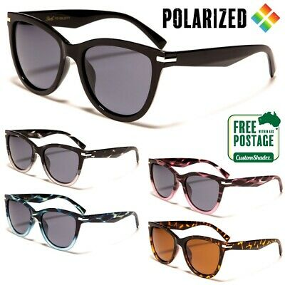 Giselle Womens Polarised Sunglasses - Vintage / Retro Frame - Polarized Lens