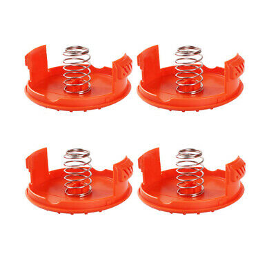 Replacement Spool Cap and Spring for AFS Trimmer Black/&Decker RC-100-P 3 Pack