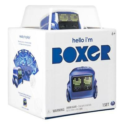 Boxer - Interactive A.I. Robot Toy - Blue + Remote Control *Spin Master